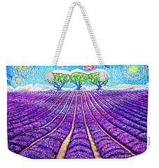 Lavender Weekender Tote Bag by Viktor Lazarev