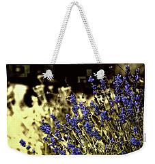 Lavender Yellow Weekender Tote Bag