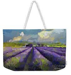 Lavenders Of South Weekender Tote Bag by Dragica Micki Fortuna