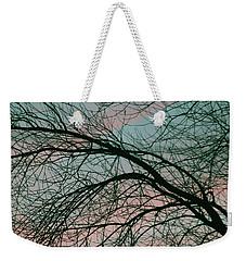 Lavish Sky Weekender Tote Bag