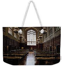 Law School Library Weekender Tote Bag