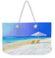 Lawn Chairs In Paradise Weekender Tote Bag