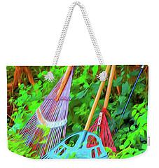 Lawn Tools Weekender Tote Bag