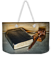 Lawyer - Truth And Justice Weekender Tote Bag by Paul Ward