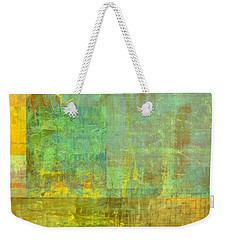 Layer Study - Turquoise Weekender Tote Bag