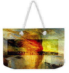 Layered 12 Turner Weekender Tote Bag by David Bridburg