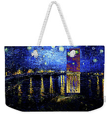Layered 15 Van Gogh Weekender Tote Bag