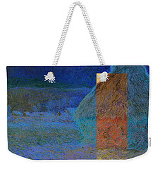 Layered 3 Monet Weekender Tote Bag