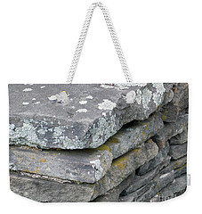 Layered Rock Wall Weekender Tote Bag