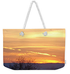 Weekender Tote Bag featuring the photograph Layered Sunlight  by Christina Verdgeline