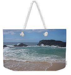 Layered Waves Weekender Tote Bag