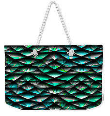 Layers Abstract Weekender Tote Bag