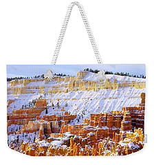Weekender Tote Bag featuring the photograph Layers by Chad Dutson