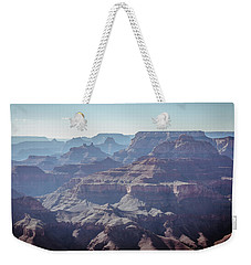 Weekender Tote Bag featuring the photograph Layers For Infinity by Margaret Pitcher