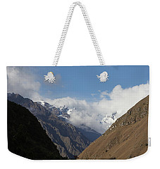 Layers Of Mountains Weekender Tote Bag