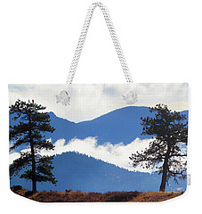 Weekender Tote Bag featuring the photograph Layers Of Nature by Shane Bechler