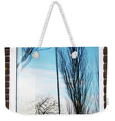 Layers Of Reality Weekender Tote Bag by Ana Mireles