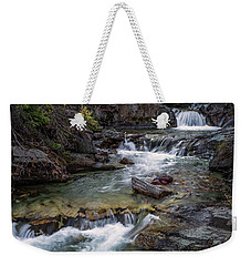 Layers Of Waterfalls Weekender Tote Bag