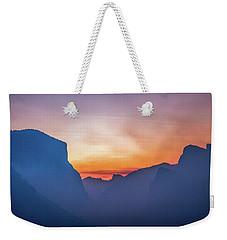 Layers Of Yosemite Weekender Tote Bag