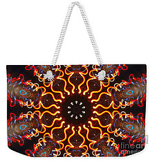 Lazer Lights Weekender Tote Bag