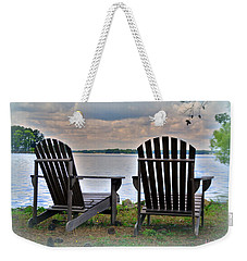 Weekender Tote Bag featuring the photograph Lazy Afternoon by Lisa Wooten