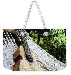 Lazy Cuatro Weekender Tote Bag by The Art of Alice Terrill