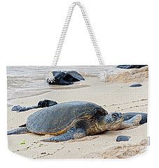 Lazy Day At The Beach Weekender Tote Bag