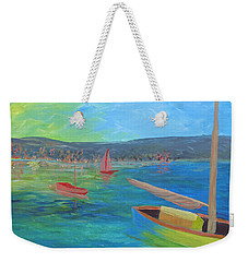 Lazy Summer Weekender Tote Bag