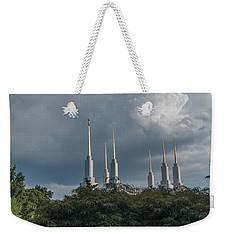Lds Storm Clouds Weekender Tote Bag