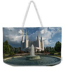 Lds Water Fountain  Weekender Tote Bag