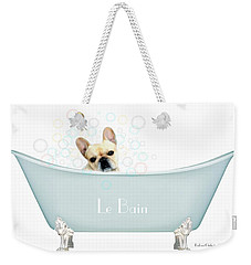 Weekender Tote Bag featuring the photograph Le Bain by Barbara Chichester