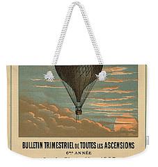 Le Balloon Journal Weekender Tote Bag