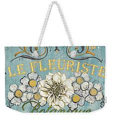 Le Fleuriste De Botanique Weekender Tote Bag by Debbie DeWitt