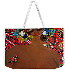 Weekender Tote Bag featuring the tapestry - textile Le Grande Madame by Apanaki Temitayo M