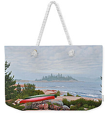 Le Hayes Island Weekender Tote Bag by Kenneth M Kirsch