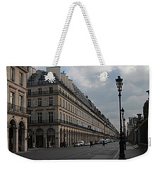Weekender Tote Bag featuring the photograph Le Meurice Hotel, Paris by Christopher Kirby