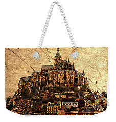 Le Mont Saint-michel Weekender Tote Bag by Hugh Smith