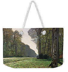 Le Pave De Chailly Weekender Tote Bag by Claude Monet