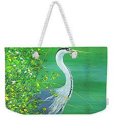 Le Petit Trianon Heron Weekender Tote Bag