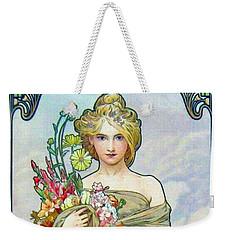 Le Printemps C1895 Weekender Tote Bag by Padre Art