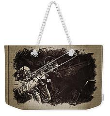 Le Roi Du Trombone  Weekender Tote Bag