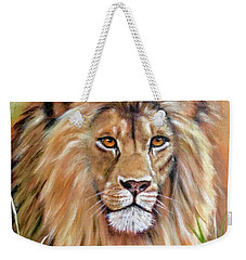 Le Roi-the King, Tribute To Cecil The Lion   Weekender Tote Bag