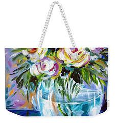 Le Rose Bianche Weekender Tote Bag