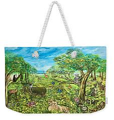 Le Royaume Animal De Yang Weekender Tote Bag by Belinda Low