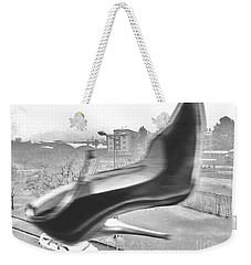Flying Stiletto Weekender Tote Bag by Don Pedro De Gracia
