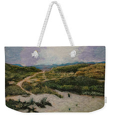 Weekender Tote Bag featuring the painting Lead Me To Tranquility by Ron Richard Baviello