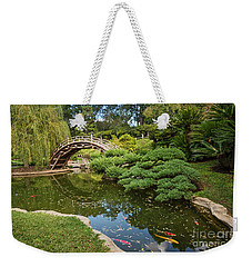 Lead The Way - The Beautiful Japanese Gardens At The Huntington Library With Koi Swimming. Weekender Tote Bag