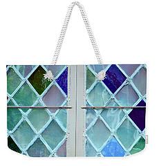 Leaded Glass Weekender Tote Bag