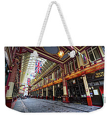 Weekender Tote Bag featuring the photograph Leadenhall Market by Shirley Mitchell
