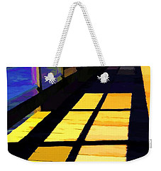 Weekender Tote Bag featuring the photograph Leading Lines # 1 by Mel Steinhauer